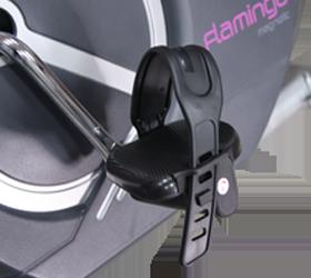 OXYGEN FLAMINGO Велотренажер - Антисклользящие педали с регулируемыми ремешками
