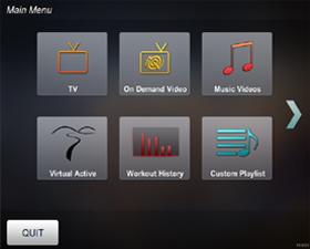 Matrix S3X (2012) Степпер - WEB on-line фитнес ориентированный мультимедийный сервис Netpulse.com (требует дополнительного оборудования)