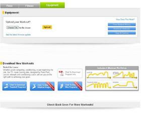 Matrix S3X (2012) Степпер - WEB on-line сервис LiveStrong.com для загрузки, сохранения и анализа персональных тренировочных данных