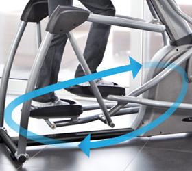 VISION S7100 HRT (2012) Эллиптический тренажер - Биорадиус PerfectStride™