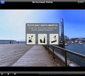 MATRIX T1XE VA (2013) Беговая дорожка - Виртуальный ландшафт™ - технология синхронизации тренажера и специально снятых видео роликов