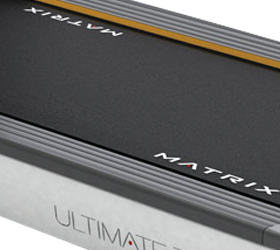 MATRIX T1XE VA (2013) Беговая дорожка - Амортизационая система настроена на оптимальную жесткость, на любых скоростных режимах дорожка максимально комфортна и безопасна