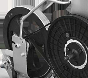 OXYGEN GX-65 Эллиптический эргометр - Элементы электромагнитной приводной системы magicFLOW™ FRONT PLUS