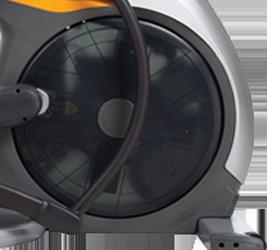 Matrix E7XI (E7XI-03) Эллиптический эргометр - Съемная крышка маховика и ряд других улучшений для быстрого сервисного обслуживания
