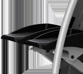 Matrix S5X (S5X'13/ S5X-05) Степпер - Рифленые прорезиненные нескользящие педали для самого устойчивого положения