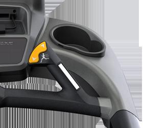 MATRIX T7XI (T7XI-03) Беговая дорожка - Быстрые кнопки управления скоростью и наклоном вынесены на передний поручень, это действительно удобно