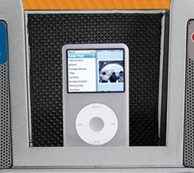 Консольная база управления iPod™/iPhone™