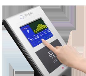 OXYGEN SATORI RB HRC Велоэргометр - Цветной LCD дисплей c сенсорным управлением (Touch Screen)