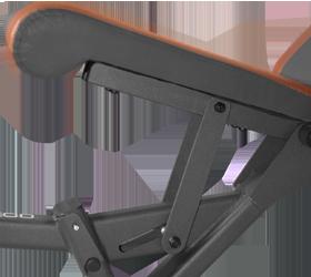 OXYGEN TOLEDO Скамья для жима - 2 положения регулировки сидения по высоте