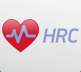 OXYGEN TYPHOON HRC Гребной тренажер - Встроенный в консоль беспроводной приемник частоты сердечного пульса