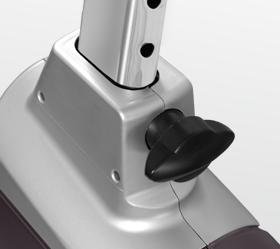 OXYGEN NEXUS GURU UB HRC Велоэргометр - Регулировка сидения по вертикали