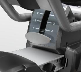 BRONZE GYM R801 LC Велотренажер - Регулировка сидения по горизонтали (5 положений, спинка сидения)