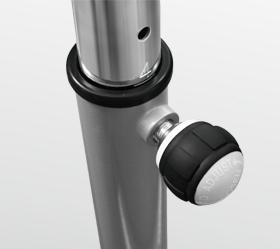 BRONZE GYM R801 LC Велотренажер - Регулировка сидения по вертикали  (5 положений)