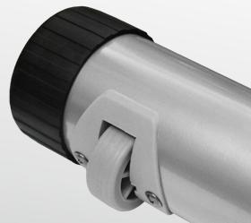 BRONZE GYM R801 LC Велотренажер - Транспортировочные ролики