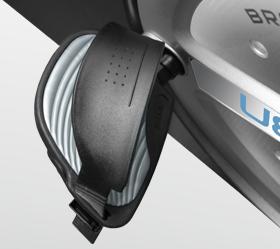 BRONZE GYM R801 LC Велотренажер - Рифленые педали с регулируемыми ремешками