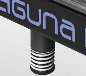 OXYGEN LAGUNA II AL Беговая дорожка - Цилиндрические эластомеры с пружинами как дополнительный элемент амортизации Natural™ Springs