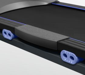 OXYGEN PLASMA III LC TFT HRC Беговая дорожка - 4 динамические подушки dualFLEX™