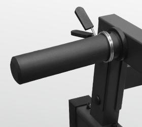 OXYGEN FORT SMITH Силовая скамья - Держатель для дисков (26 или 51 мм.)
