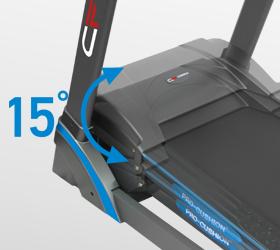 CARBON T806 HRC Беговая дорожка - Электрически изменяемый угол наклона от 0 до 15%