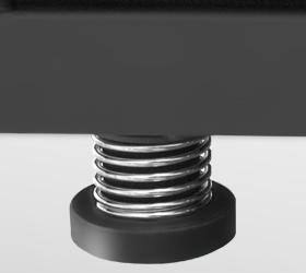 CARBON T806 HRC Беговая дорожка - Цилиндрические эластомеры с пружинами Soft Springs™