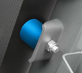CARBON T656 Беговая дорожка - Эластомеры Variable Cushion System™ являются характерным элементом дорожек клубного уровня