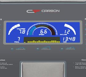 CARBON T906 ENT HRC Беговая дорожка - Голубой многофункциональный LCD дисплей с диагональю 4.9 дюйма (12.5 см.)