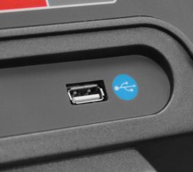 CARBON T906 ENT HRC Беговая дорожка - USB вход для проигрывания аудио файлов