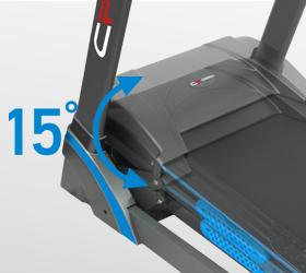 CARBON T906 ENT HRC Беговая дорожка - Электрически изменяемый угол наклона от 0 до 15%