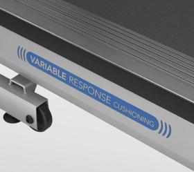 Беговая дорожка Horizon Adventure 5 VIEWFIT - Трехзонная система амортизации Variable Cushioning System