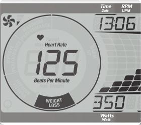 HORIZON COMFORT R VIEWFIT Велоэргометр - Индикация пульса