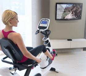 HORIZON COMFORT 5 VIEWFIT Велоэргометр - Виртуальный ландшафт Passport™ - технология синхронизации тренажера и специально снятых видео роликов (опционально)