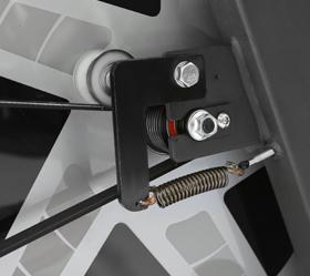 BRONZE GYM S1000 PRO Спин-байк - Ремень и преднатяжитель
