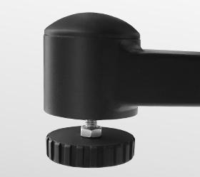 BRONZE GYM S1000 PRO Спин-байк - Компенсаторы неровностей пола