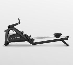 MATRIX NEW Rower Гребной тренажер - Стальная надежная рама дополняет лучший в отрасли дизайн