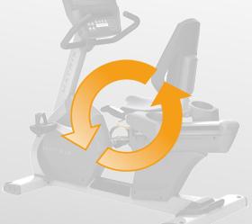 MATRIX R3XM (R3XM) Велотренажер реабилитационный - Независимость от электросетей для экономии электроэнергии и оптимального расположения