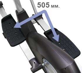 OXYGEN SATORI EL HRC EXT Эллиптический эргометр - Длина шага 505 мм.