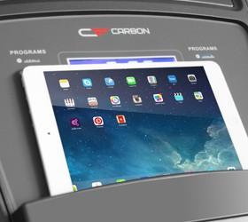 CARBON T507 Беговая дорожка - Подставка под планшет