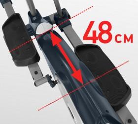 CARBON E907 Эллиптический эргометр - Длина шага 48 см.