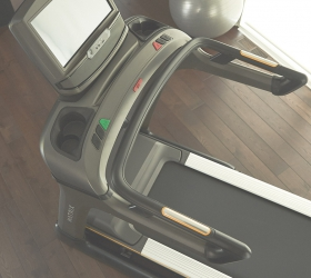 MATRIX T70XIR Беговая дорожка - Максимальная устойчивость. Супер прочная стальная сварная рама обеспечивает максимальную устойчивость при тренировках любого типа и пользователей разного телосложения
