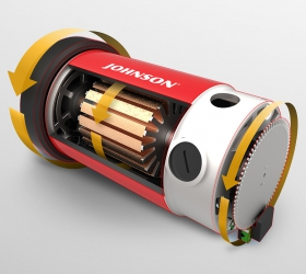 MATRIX TF50XR Беговая дорожка - Мотор собственного производства Johnson Drive™ System. Мотор постоянного тока мощностью 3.25 л.с. моментально откликается на любые изменения скорости, являясь при этом максимально надежным и устойчивым к перебоям электричества.
