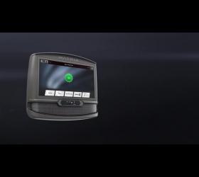 MATRIX TF50XIR Беговая дорожка - Видео консоль