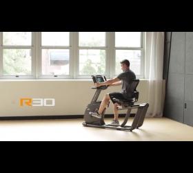 MATRIX R30XR Горизонтальный велоэргометр - Видео