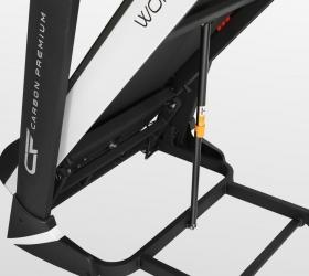 CARBON PREMIUM WORLD RUNNER T1 Беговая дорожка - Двухфазная гидравлика Easy Drop™