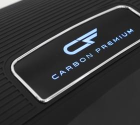 CARBON PREMIUM WORLD RUNNER T2 Беговая дорожка - Одна из премиальных компонент - светящийся логотип CARBON PREMIUM