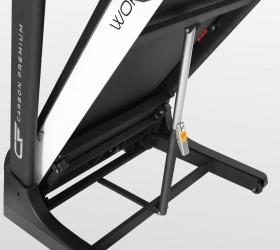 CARBON PREMIUM WORLD RUNNER T2 Беговая дорожка - Двухфазная гидравлика Easy Drop™ Advanced