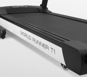 CARBON PREMIUM WORLD RUNNER T1 Беговая дорожка - Профессиональная рама закрытого типа Shield Deck™ Pro