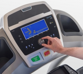 Беговая дорожка Horizon Elite T7.1 - Удобный джойстик для управления консолью и выбора тренировочных программ