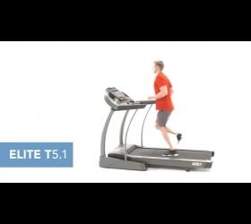 Беговая дорожка Horizon Elite T5.1 - Видео