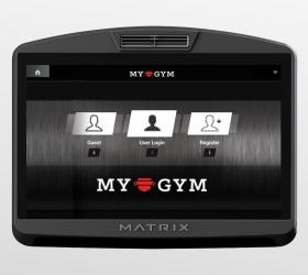 Matrix E7XI (E7XI-03) Эллиптический эргометр - Брендирование интерфейса под свой клуб