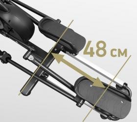 BRONZE GYM PRO GLIDER Эллиптический тренажер - Длина шага 48 см.